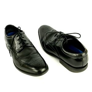 Nunn Bush black lace leather Oxford shoes size 11